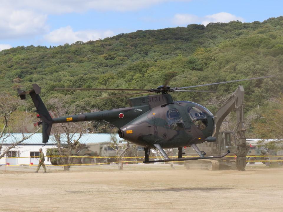 F.YUKIHIDEさんの陸上自衛隊 Kawasaki OH-6D (31311) 航空フォト