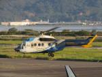 sp3混成軌道さんが、岡南飛行場で撮影した中日本航空 AS332L Super Pumaの航空フォト(写真)