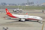 ちゃぽんさんが、中部国際空港で撮影した上海航空 A330-343Xの航空フォト(写真)