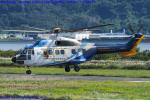 Chofu Spotter Ariaさんが、岡南飛行場で撮影した中日本航空 AS332L Super Pumaの航空フォト(飛行機 写真・画像)