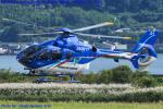Chofu Spotter Ariaさんが、岡南飛行場で撮影した東北エアサービス EC135P2+の航空フォト(飛行機 写真・画像)
