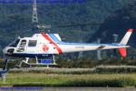 Chofu Spotter Ariaさんが、岡南飛行場で撮影したつくば航空 AS350B Ecureuilの航空フォト(飛行機 写真・画像)
