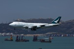 garrettさんが、香港国際空港で撮影したキャセイパシフィック航空 747-467F/ER/SCDの航空フォト(写真)