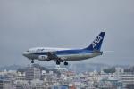 ぬま_FJHさんが、那覇空港で撮影したエアーニッポン 737-5L9の航空フォト(写真)