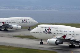 Gambardierさんが、関西国際空港で撮影した日本航空 747-446の航空フォト(写真)