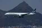 garrettさんが、香港国際空港で撮影したキャセイパシフィック航空 777-367/ERの航空フォト(写真)