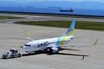 T.Sazenさんが、神戸空港で撮影したAIR DO 737-781の航空フォト(飛行機 写真・画像)