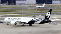 誘喜さんが、羽田空港で撮影したニュージーランド航空 787-9の航空フォト(写真)