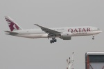 たみぃさんが、香港国際空港で撮影したカタール航空カーゴ 777-FDZの航空フォト(写真)