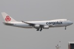 たみぃさんが、香港国際空港で撮影したカーゴルクス 747-467F/SCDの航空フォト(写真)