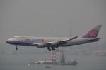 JA8037さんが、香港国際空港で撮影したチャイナエアライン 747-409F/SCDの航空フォト(写真)