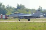 ちゃぽんさんが、ジュコーフスキー空港で撮影したロシア空軍 MiG-29UBの航空フォト(飛行機 写真・画像)