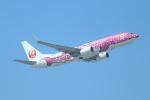 ヨウダーさんが、那覇空港で撮影した日本トランスオーシャン航空 737-8Q3の航空フォト(写真)
