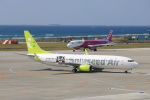 airportfireengineさんが、那覇空港で撮影したソラシド エア 737-86Nの航空フォト(写真)