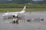 キイロイトリさんが、新石垣空港で撮影した日本トランスオーシャン航空 737-8Q3の航空フォト(写真)