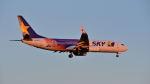 mike48さんが、新千歳空港で撮影したスカイマーク 737-81Dの航空フォト(写真)