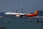 garrettさんが、香港国際空港で撮影した香港航空 A330-343Xの航空フォト(写真)