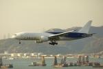 garrettさんが、香港国際空港で撮影したサザン・エア 777-F16の航空フォト(写真)