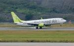 STAR ALLIANCE☆JA712Aさんが、長崎空港で撮影したソラシド エア 737-86Nの航空フォト(写真)