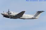 いおりさんが、岩国空港で撮影したアメリカ海兵隊 UC-12W Super King Air (A200C)の航空フォト(写真)
