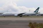 青春の1ページさんが、関西国際空港で撮影したキャセイパシフィック航空 777-367の航空フォト(写真)