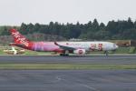 pringlesさんが、成田国際空港で撮影したタイ・エアアジア・エックス A330-343Xの航空フォト(写真)