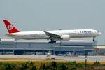まいけるさんが、スワンナプーム国際空港で撮影したターキッシュ・エアラインズ 777-35R/ERの航空フォト(写真)