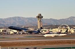 Cimarronさんが、ロサンゼルス国際空港で撮影したニュージーランド航空 777-319/ERの航空フォト(飛行機 写真・画像)