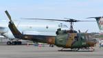 パンダさんが、下総航空基地で撮影した陸上自衛隊 UH-1Jの航空フォト(写真)