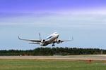 MJさんが、庄内空港で撮影した全日空 737-881の航空フォト(写真)