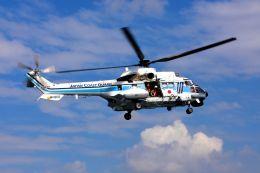 まいけるさんが、みなとみらいヘリポートで撮影した海上保安庁 AS332L1 Super Pumaの航空フォト(飛行機 写真・画像)