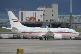 SFJ_capさんが、関西国際空港で撮影したドバイ・ロイヤル・エア・ウィング 737-7E0 BBJの航空フォト(写真)