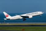 RUNWAY23.TADAさんが、羽田空港で撮影した日本航空 777-246の航空フォト(飛行機 写真・画像)