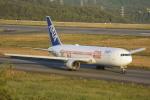 けんじさんが、岡山空港で撮影した全日空 767-381/ERの航空フォト(写真)