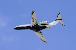 yabyanさんが、名古屋飛行場で撮影したジャプコン 525 Citation M2の航空フォト(飛行機 写真・画像)
