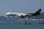 garrettさんが、香港国際空港で撮影したUPS航空 747-8Fの航空フォト(写真)