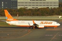 SFJ_capさんが、新千歳空港で撮影したチェジュ航空 737-8FHの航空フォト(写真)