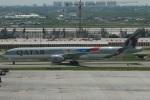 たみぃさんが、スワンナプーム国際空港で撮影したカタール航空 777-3DZ/ERの航空フォト(写真)