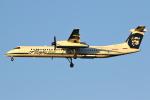 masa707さんが、ポートランド国際空港で撮影したホライゾン航空 DHC-8-202Q Dash 8の航空フォト(写真)