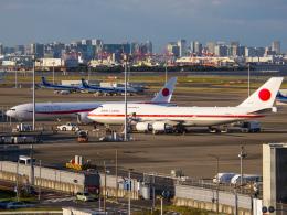 Mame @ TYOさんが、羽田空港で撮影した航空自衛隊 747-47Cの航空フォト(飛行機 写真・画像)
