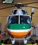 ピリンダさんが、静岡ヘリポートで撮影した静岡県消防防災航空隊 BK117C-1の航空フォト(写真)