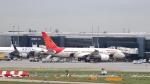 誘喜さんが、ロンドン・ヒースロー空港で撮影したエア・インディア 787-8 Dreamlinerの航空フォト(写真)