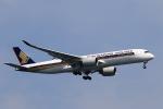 ★azusa★さんが、シンガポール・チャンギ国際空港で撮影したシンガポール航空 A350-941XWBの航空フォト(写真)
