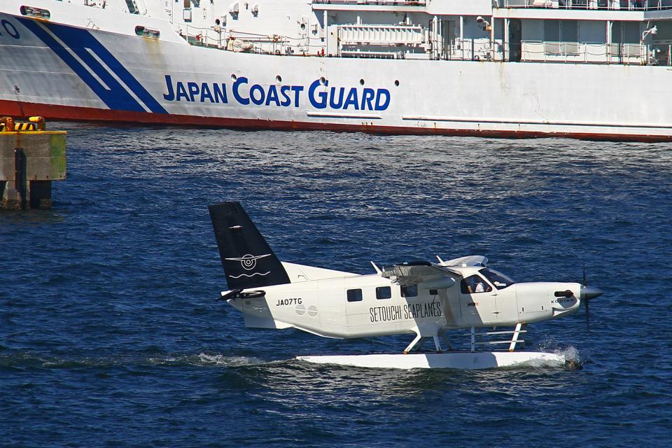 りんたろうさんのせとうちSEAPLANES Quest Kodiak (JA07TG) 航空フォト