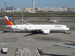 HRK-HNDさんが、羽田空港で撮影したフィリピン航空 A350-941XWBの航空フォト(写真)