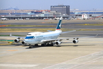 ふじいあきらさんが、羽田空港で撮影したキャセイパシフィック航空 747-467の航空フォト(写真)