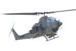 つっさんさんが、八尾空港で撮影した陸上自衛隊 AH-1Sの航空フォト(写真)