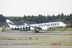 mitsuru1さんが、成田国際空港で撮影したフィンエアー A350-941XWBの航空フォト(写真)