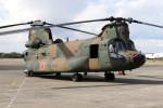 utarou on NRTさんが、下総航空基地で撮影した陸上自衛隊 CH-47JAの航空フォト(写真)
