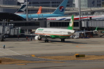 ぷぅぷぅまるさんが、関西国際空港で撮影したエバー航空 A321-211の航空フォト(写真)